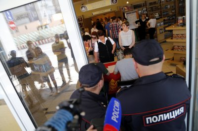 Russian security forces raid Church of Scientology