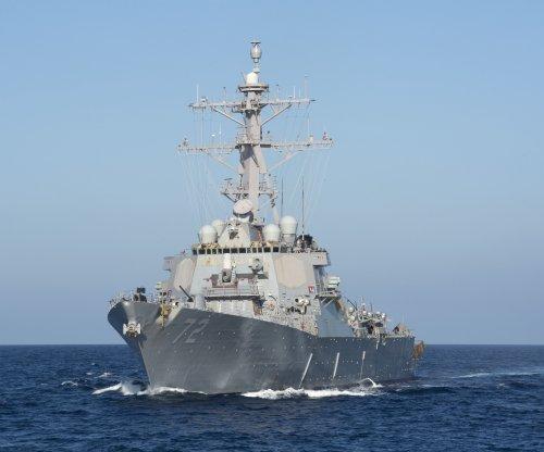 U.S. Navy's USS Mahan has close encounter with Iranian ship