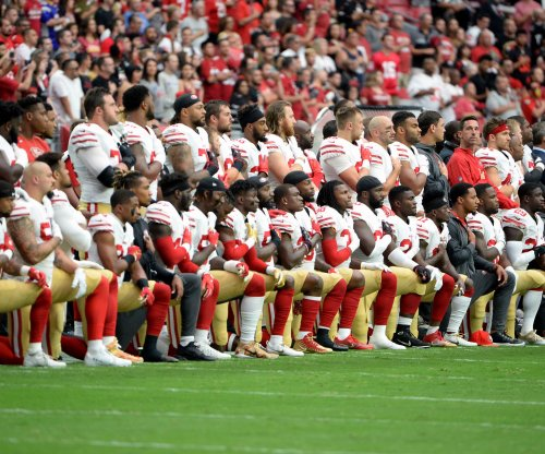 National anthem: San Francisco 49ers want 'to influence positive change'