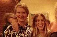 Sarah Jessica Parker, Cynthia Nixon reunite after 'Sex and the City' drama