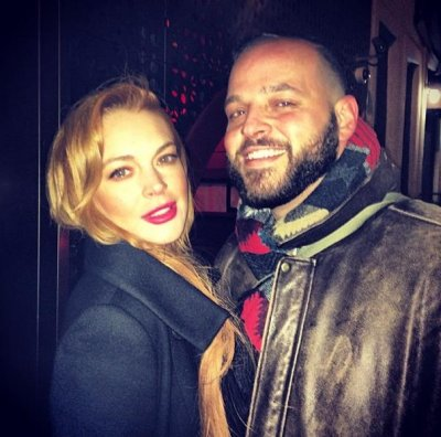 Lindsay Lohan reunites with Danny Franzese, 'Damian' from 'Mean Girls'