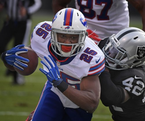 LeSean McCoy: Buffalo Bills running back listed as 'day-to-day' by Sean McDermott