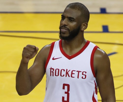 Rockets' Chris Paul out for Game 6 vs. Warriors, Game 7 status unknown