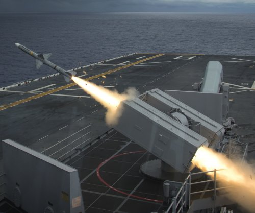 NATO successfully tests upgraded Sea Sparrow missile