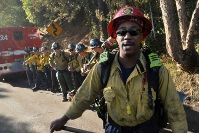 Fire crews gain greater control over California wildfires