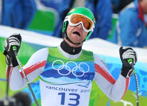 Austria's Kroell wins tight men's downhill