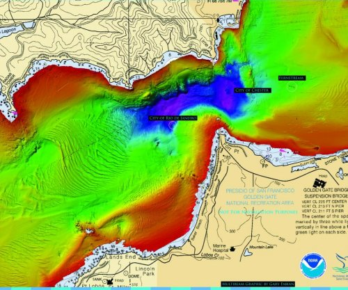 NOAA reveals first images of historic San Francisco shipwreck