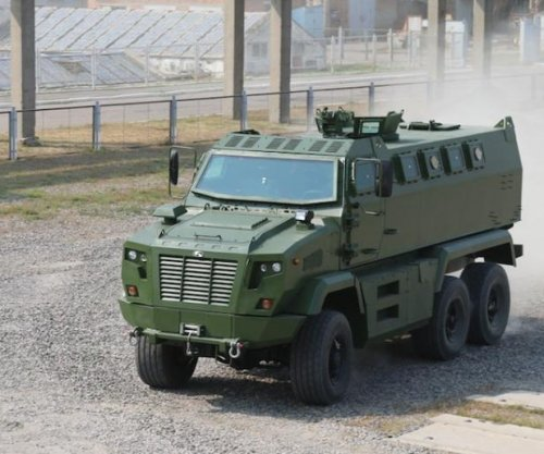 Ukrainian company touts new armored vehicle
