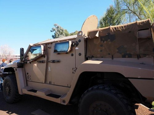 Australia orders Hawkei 4x4 vehicles