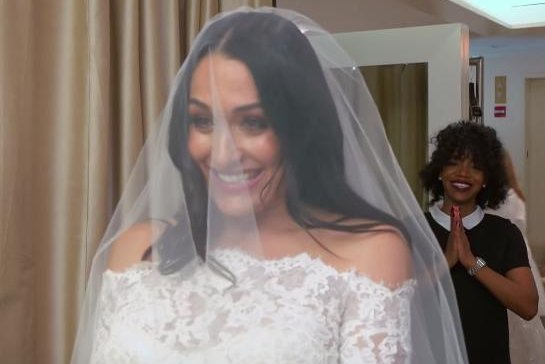 Watch: Nikki Bella finds the perfect wedding dress in new \'Total ...