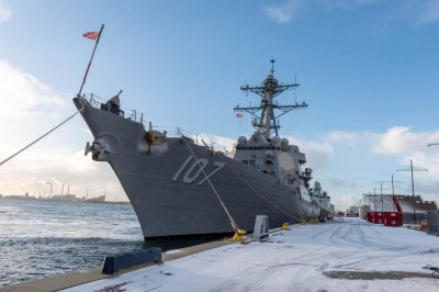 USS Gravely becomes flagship of NATO maritime forces group