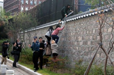 South Korean students arrested after trespassing at U.S. ambassador's residence
