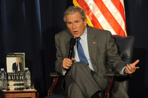 George W. Bush to speak on counter-terrorism