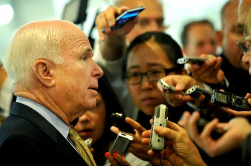 McCain chides Cruz for Nazi comment during Obamacare oratory