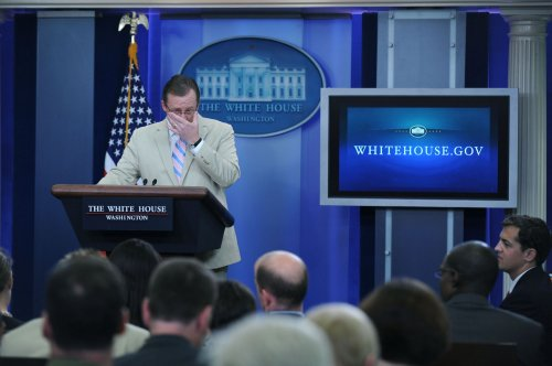 Gibbs leaving White House press post