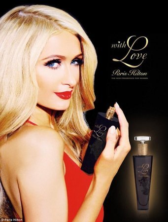 Paris Hilton launches new perfume 'With Love, Paris Hilton'