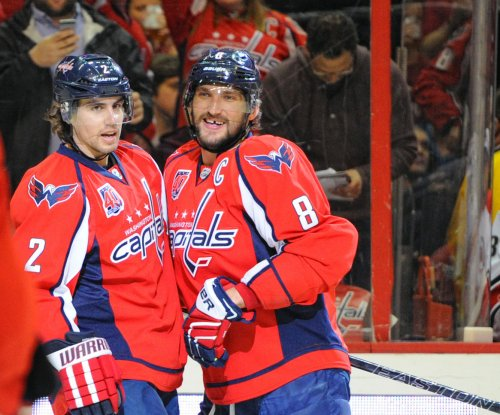 Ovechkin scores 50th as Washington Capitals down Carolina Hurricanes