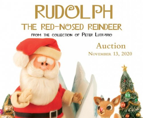 'Rudolph the Red-Nosed Reindeer,' Santa puppets to go up for auction