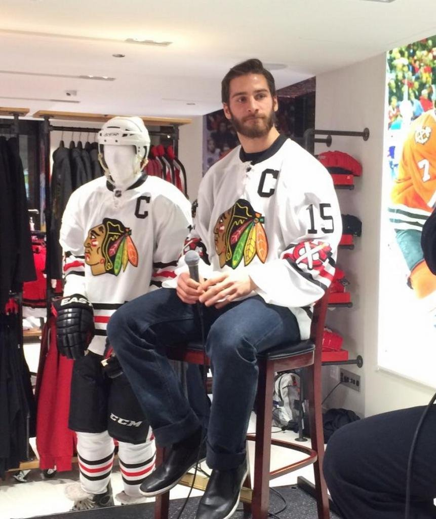 773f2f887aa NHL Winter Classic jerseys unveiled by Chicago Blackhawks - UPI.com