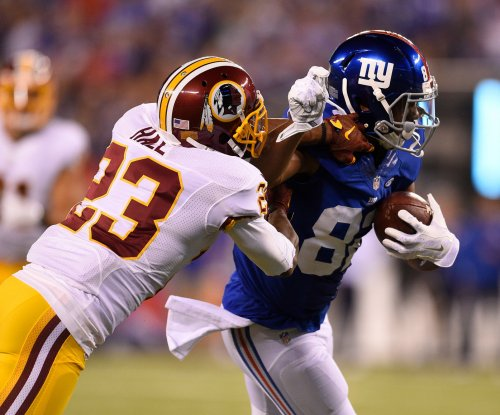 Washington Redskins lose Bashaud Breeland, DeAngelo Hall to injuries at New York Giants