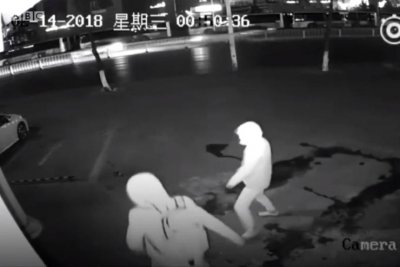 Attempted burglary ends with accidental brick to the face