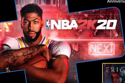 'NBA 2K20,' 'Tomb Raider' is free for PlayStation Plus members in July
