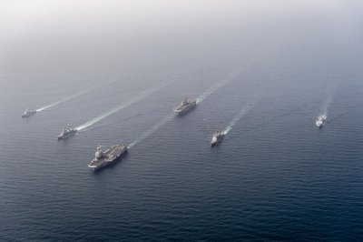 France, U.S., others participate in Group Arabian Sea Warfare Exercise