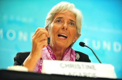 Lagarde takes the lead