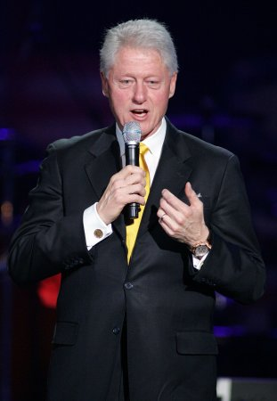 Stars flock to Clinton N.Y. birthday bash