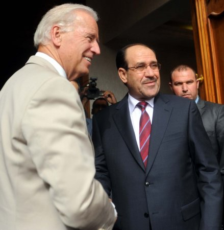 Biden sees rosy U.S.-Iraq relationship
