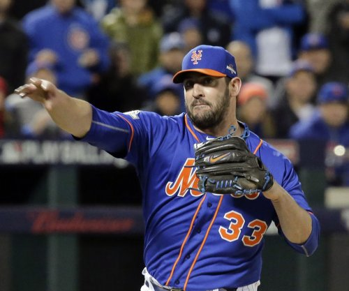 New York Mets' Matt Harvey still scheduled to pitch Game 5