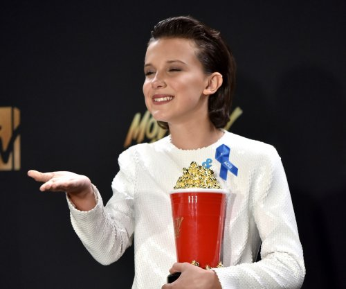 MTV Awards: Millie Bobby Brown gives emotional acceptance speech for Best Actor in a Show win