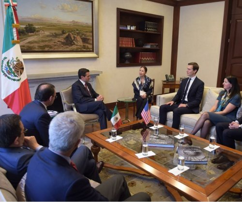 Jared Kushner meets with Nieto amid flaring U.S.-Mexico tensions