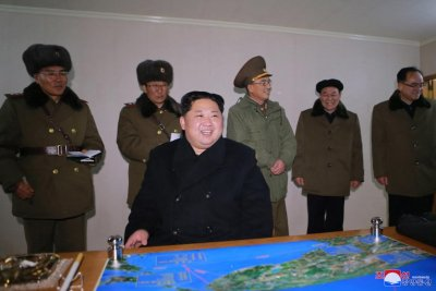 KNCA: Kim Jong Un inspects latest weapon development