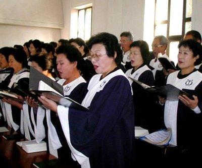 North Koreans celebrated Christmas despite