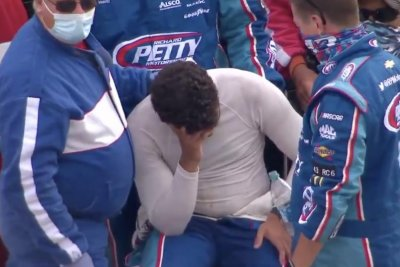 NASCAR's Bubba Wallace 'good' after fainting during interview