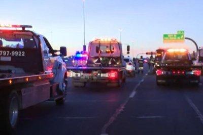 Fiery Phoenix collision with semi tanker kills 4, injures 9