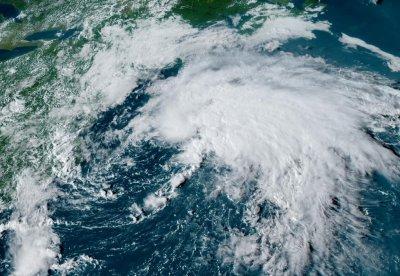 Tropical Storm Odette off Mid-Atlantic Coast