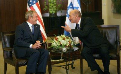 Bush: U.S. stands with Israel against foes