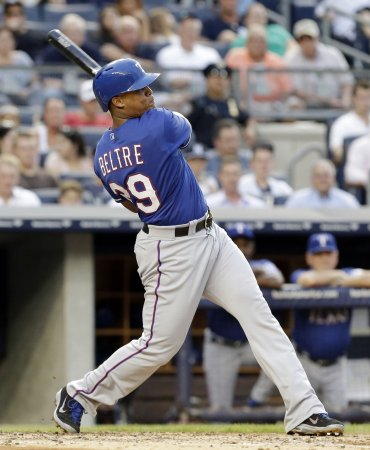 Rangers blow past Brewers