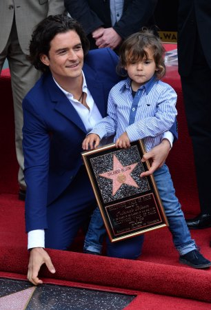 Orlando Bloom's son Flynn steals the show at Walk of Fame Star ceremony [PHOTOS]