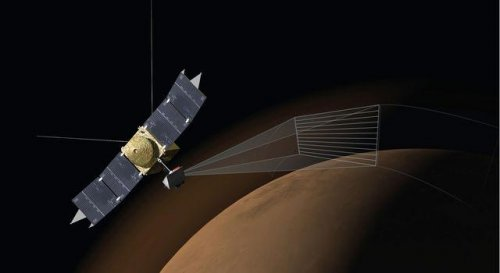 Comet Siding Spring peppered Mars' atmosphere with meteors
