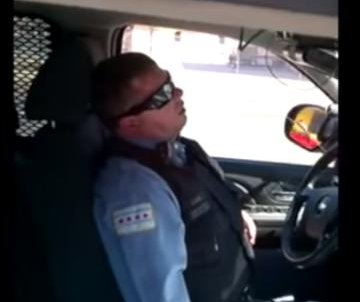 Chicago police officer caught napping in viral video may face discipline