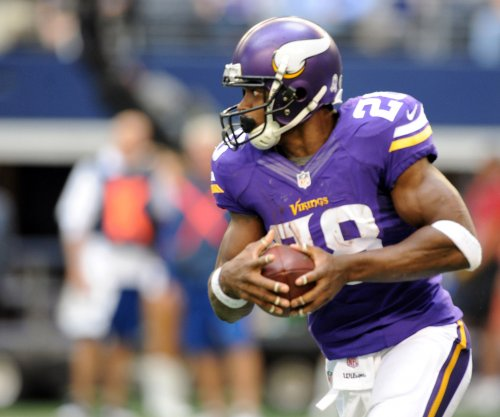 Vikings' Adrian Peterson tackled by grilled shrimp, not chewing tobacco