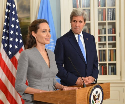 Angelina Jolie Pitt, John Kerry mark World Refugee Day in D.C.