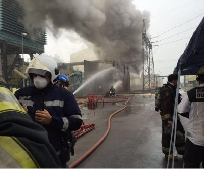 Fire at thermal power plant in Chile forces evacuation of 150 workers