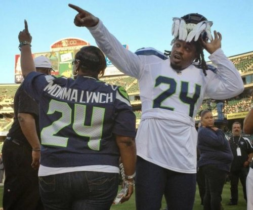 Marshawn Lynch's mom, wife of Oakland Raiders coach respond to President Trump