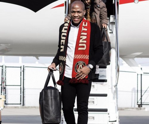 Darlington Nagbe: Midfielder arrives via private jet to new club Atlanta United