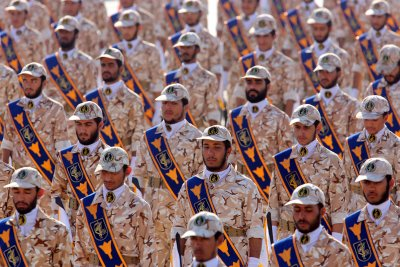 U.S. labels Iran Revolutionary Guard a 'terrorist' group