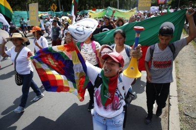 Colombians hold third national strike in opposition to President Ivan Duque